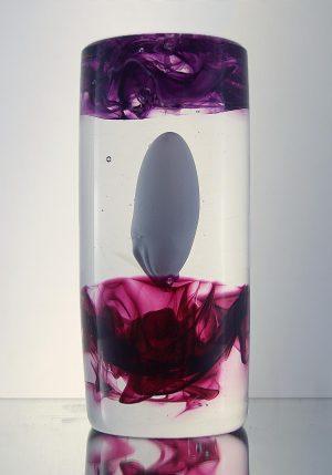 1100 Grader - Konstglas - Cylinder Embryo design Malin Tehagen