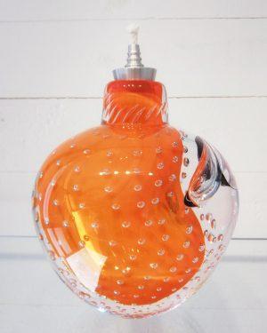 Lampor / Oljelampa - Ariel - Bubbles of love - Orange design Betina Huber