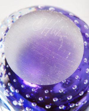 Lampor / Oljelampa - Ariel - Bubbles of love - Blå design Betina Huber
