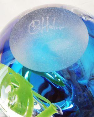 Lampor / Oljelampa - Ariel - Ocean Of Love - Blå design Betina Huber