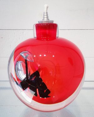 Lampor / Oljelampa - Ariel - Passion - Röd design Betina Huber