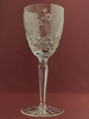 Kosta Boda - Haga - Vit vinsglas Hel Kristall design Duka
