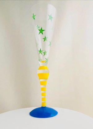 Orrefors - Clown - Champagneglas - Anne Nilsson