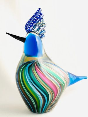 Stockholms Glasbruk Skansen - Konstglas - Mellan fågel Design Martin Ehrensvärd