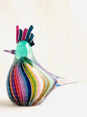 Stockholms Glasbruk Skansen - Konstglas - fågel Design Martin Ehrensvärd