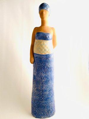 Gustavsberg - Figurin - Maxi - Negress - Kvinna med barn design Lisa Larson
