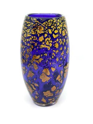 Gyllene Tider - Konstglas Vas - Hyazint Unikat design Robert Oldergaarden