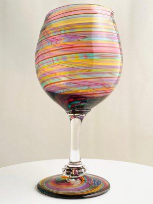 Stockholms Glasbruk Skansen - 2 st Vin / Öl glas Design Martin Ehrensvärd