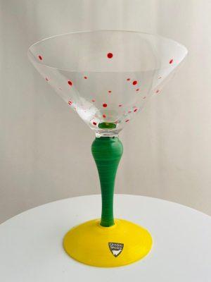 Orrefors - Clown - Martini / Coupe glas Design Anne Nilsson