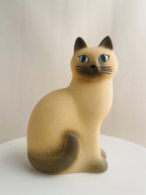 Gustavsberg - Katten Måns - Midi design Lisa Larson
