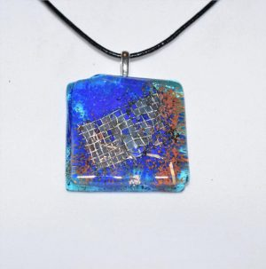 Glasprinsen - Halsband - C19 - glas unik design Dennis Lönnetun