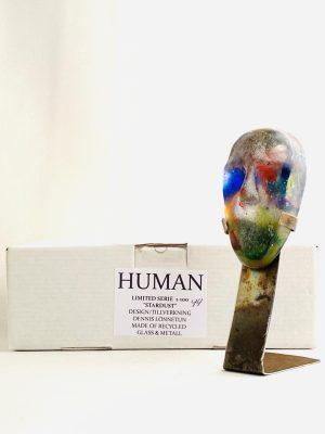 Glasprinsen - Stardust - Human - Nr 44 limiterat 100 Ex design Dennis Lönnetun