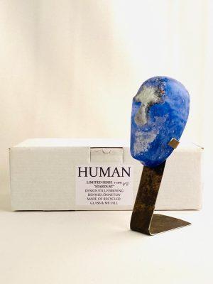 Glasprinsen - Stardust - Human - Nr 48 limiterat 100 Ex design Dennis Lönnetun