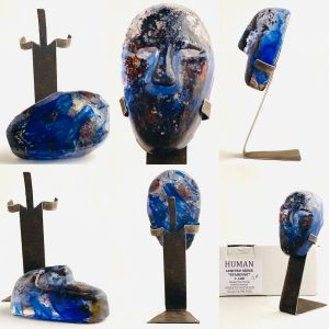 Glasprinsen - Stardust - Human - Nr 39 limiterat 100 Ex design Dennis Lönnetun