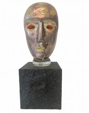 Kosta Boda - Brains - H 24 cm limiterad endast 22/60 ex design Bertil Vallien